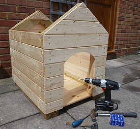 Log Cabin for Dogs