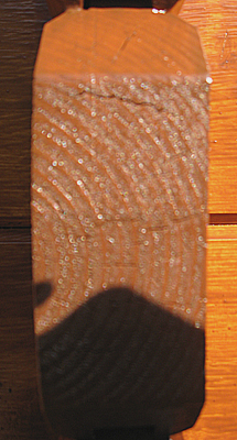 Log Cabin End Grain Cracks