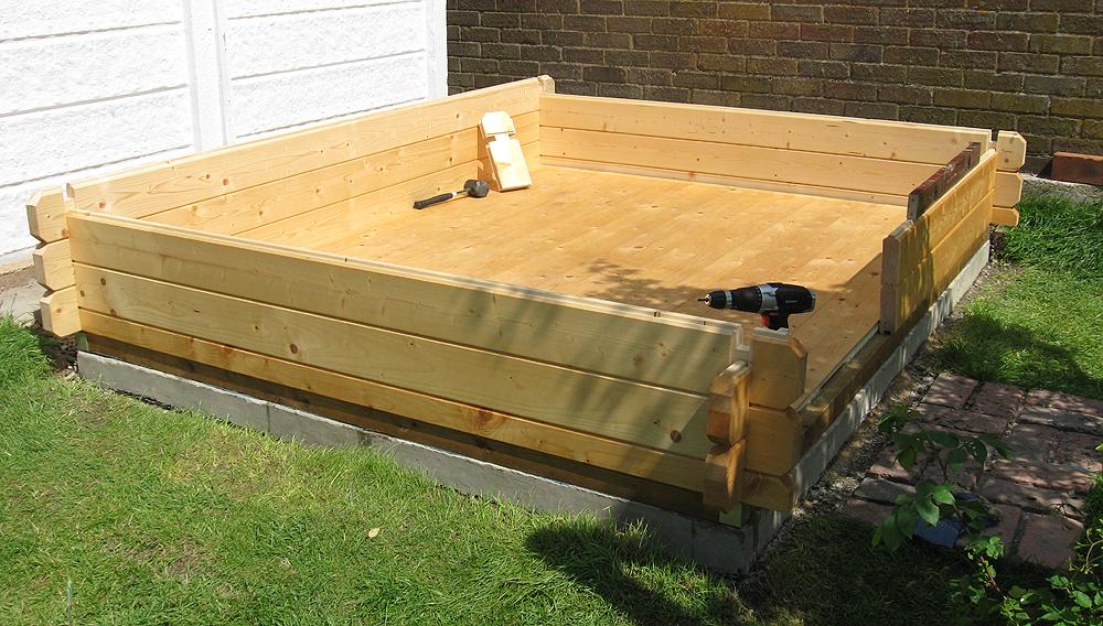 Log Cabin Concrete Base Log Cabin Advice