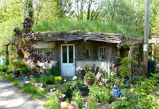 Recycled Eco Cabin